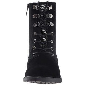 NEW 🔥SALE🔥Black/Silver Sparkle studs-Ankle Boots
